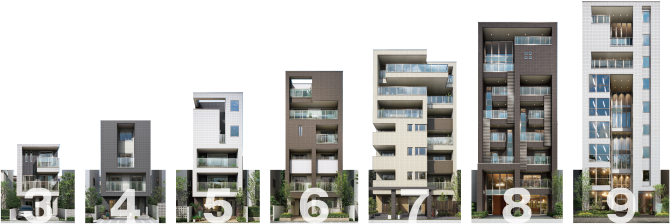 多層階住宅(3~9階建)   パナ...